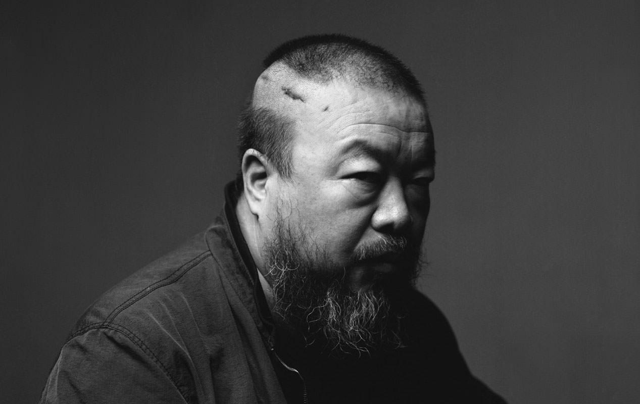 A photo of Ai Weiwei