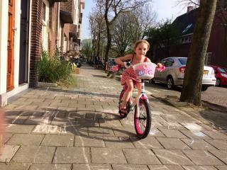 Keihard fietsen